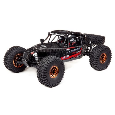 Losi 1/10 Lasernut U4 4WD Brushless RTR (Battery and Charger not included) with Smart ESC, Black, LOS03028T2