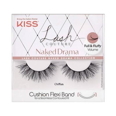 Kiss Lash Couture Naked Drama False Eyelashes - Chiffon
