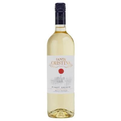Santa Cristina Pinot Grigio White Wine - 750ml Bottle