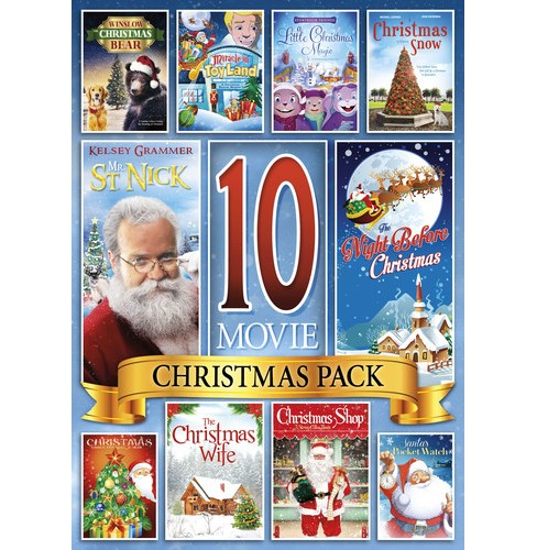 10 Movie Christmas Pack (DVD) - image 1 of 1