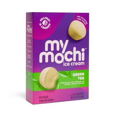 My/Mochi Green Tea Ice Cream - 6pk