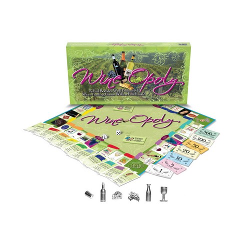 Late For The Sky Wine-Opoly Board Game - image 1 of 1