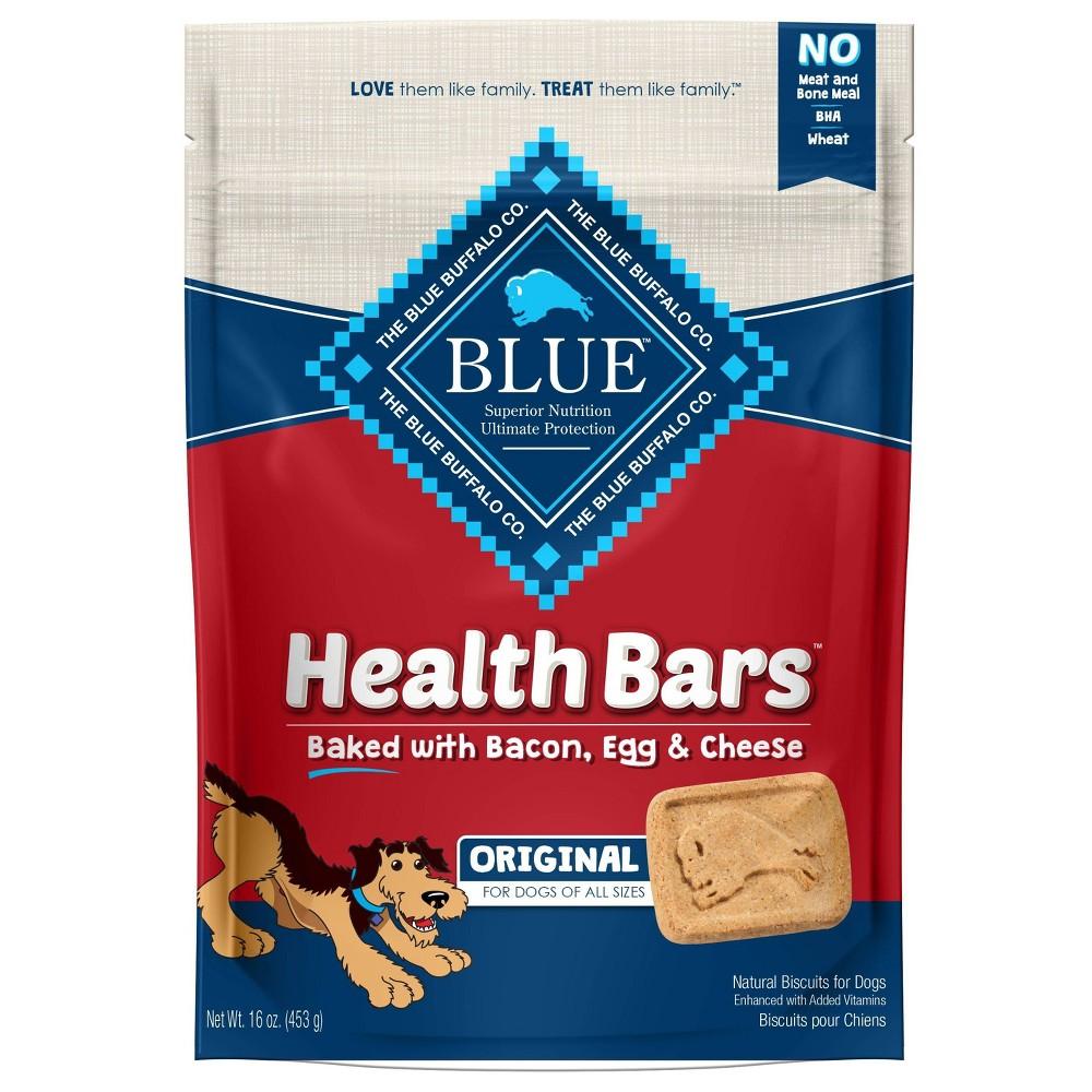 Blue Buffalo Bacon Egg 38 Cheese Health Bar For Dog 16oz