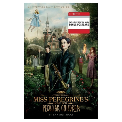 Miss Peregrine's Home for Peculiar Children (Paperback) (Exclusive Movie Postcard) (Ransom Riggs) - image 1 of 1