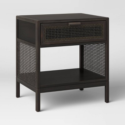 Minsmere Caned Accent Table with Drawer - Opalhouse™