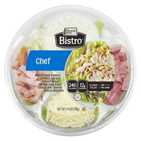 Ready Pac Foods Bistro Chef Salad Bowl - 7.75oz - image 1 of 1
