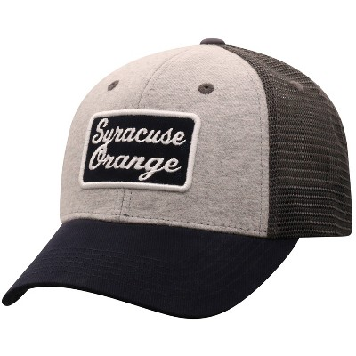 NCAA Syracuse Orange Men's Gray Cotton with Mesh Snapback Hat