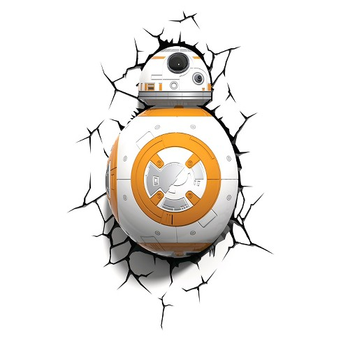 Star Wars 3D LED Nightlight – BB8 - image 1 of 6