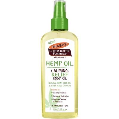 Palmer's Cocoa Butter Formula Calming Relief Hemp Body Oil - 5.1 fl oz