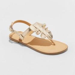 Girls' Naomi Ruffle Thong Sandals - Cat & Jack™