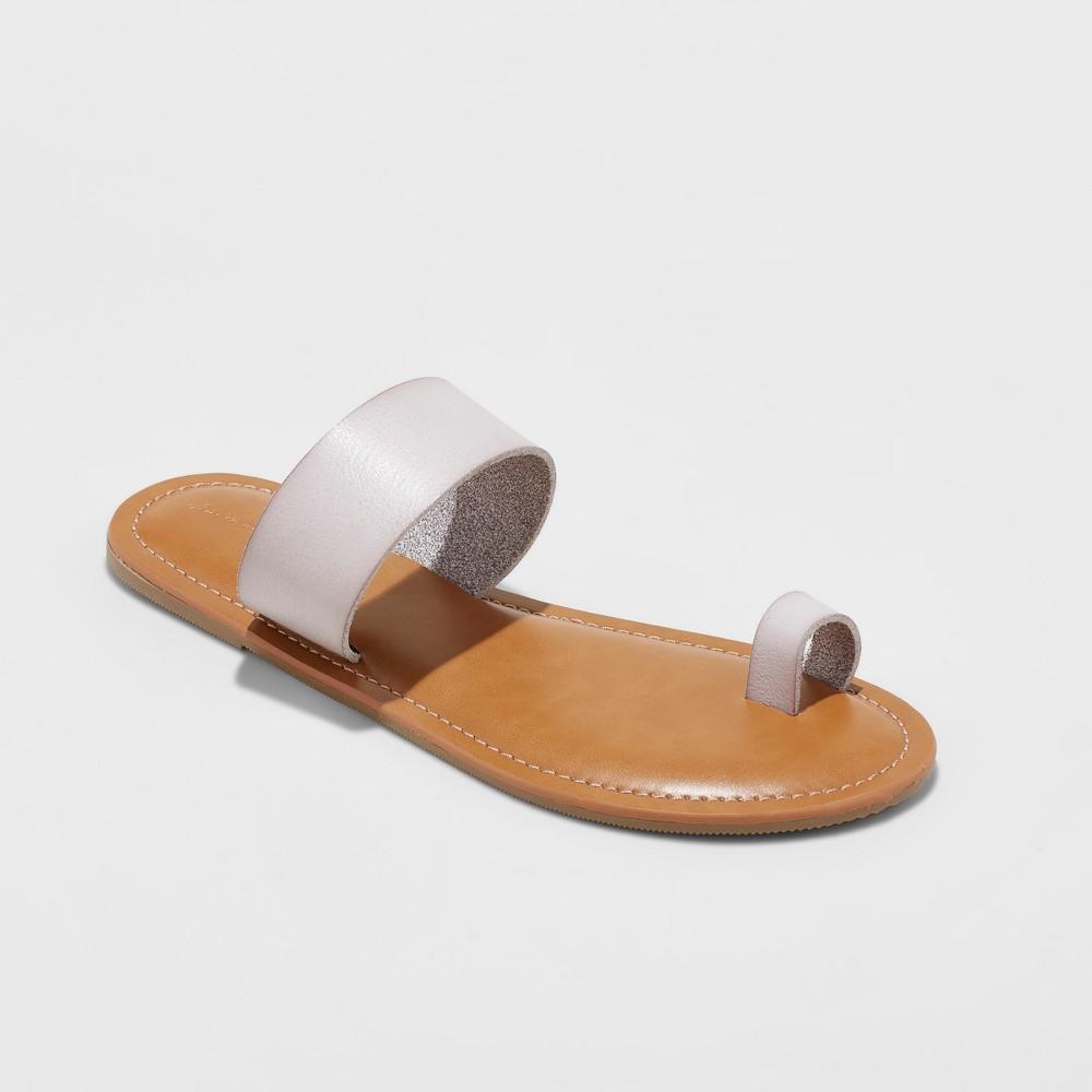 Women's Kessie Slide Sandal - Universal Thread Lavender (Purple) 8