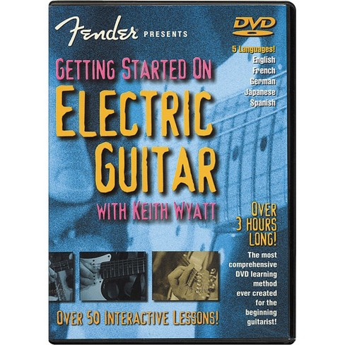Fender Getting Started On Electric Guitar DVD - image 1 of 1