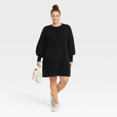 Women's Long Sleeve Sweater Dress - A New Day™
