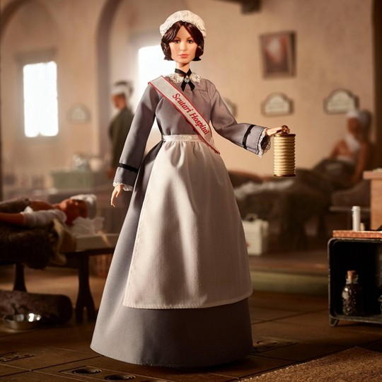 Barbie Signature Florence Nightingale Inspiring Women Collector Doll image number null