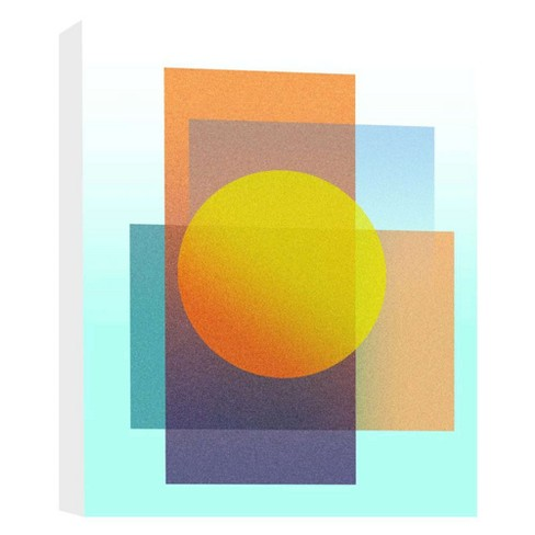 """Perfect Shapes Decorative Canvas Wall Art 11""""x14"""" - PTM Images - image 1 of 1"""
