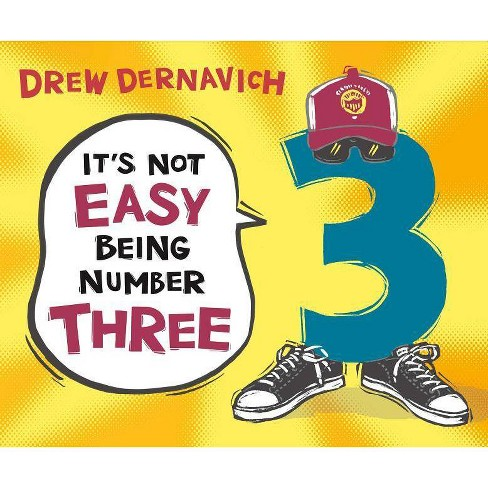 It's Not Easy Being Number Three - by  Drew Dernavich (Hardcover) - image 1 of 1