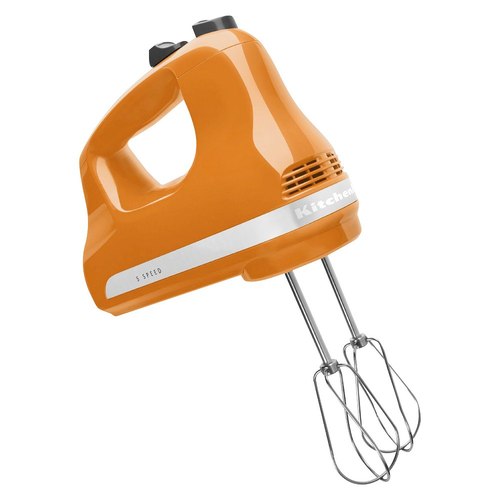 KitchenAid Ultra Power 5-Speed Hand Mixer – KHM512, Tangerine Orange 16700915