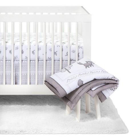 Trend Lab Crib Bedding Set - 3pc - Aztec Forest - image 1 of 4