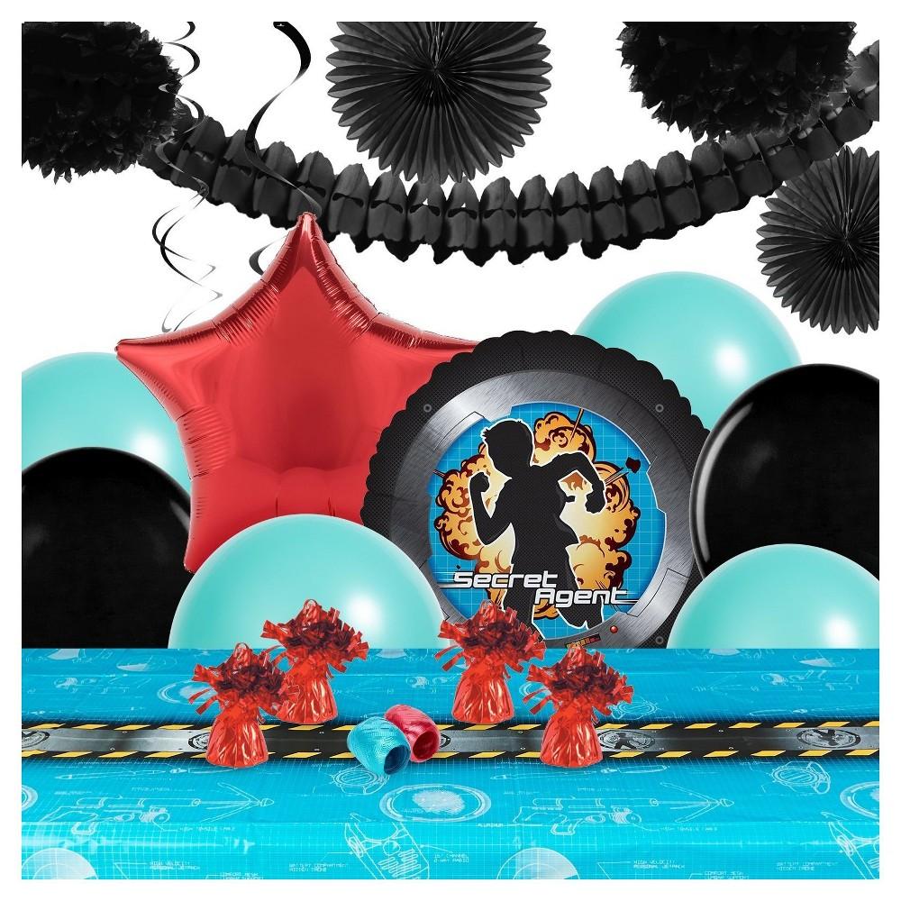 Secret Agent Party Decoration Kit