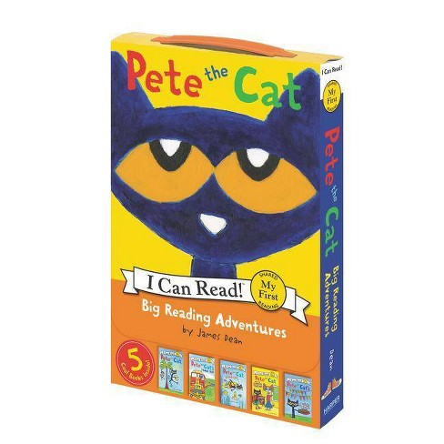Pete the Cat: Big Reading Adventures - (My First I Can Read) by  James Dean (Paperback) - image 1 of 1