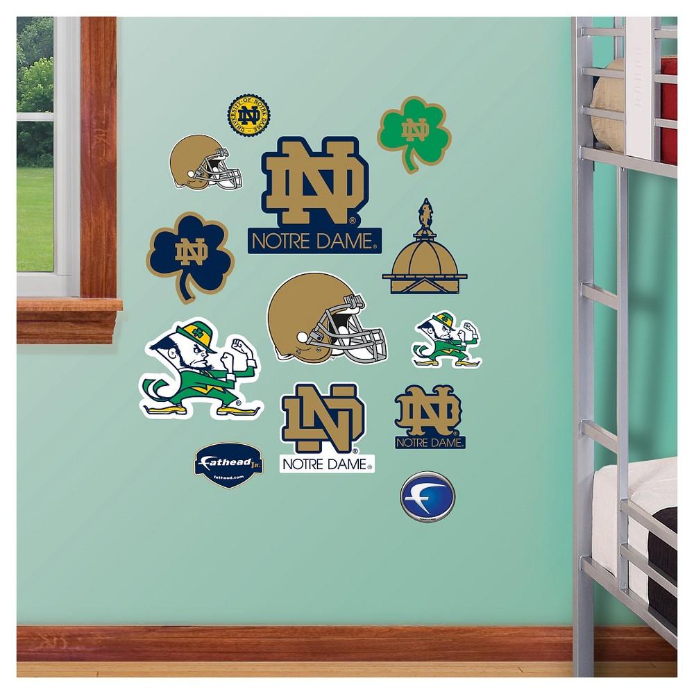 NCAA Notre Dame Fighting Irish FatheadDecorative Wall Art Set 40x3