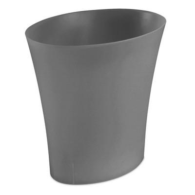 Sterilite® Wastebasket Gray 13.2qt/3.3gal