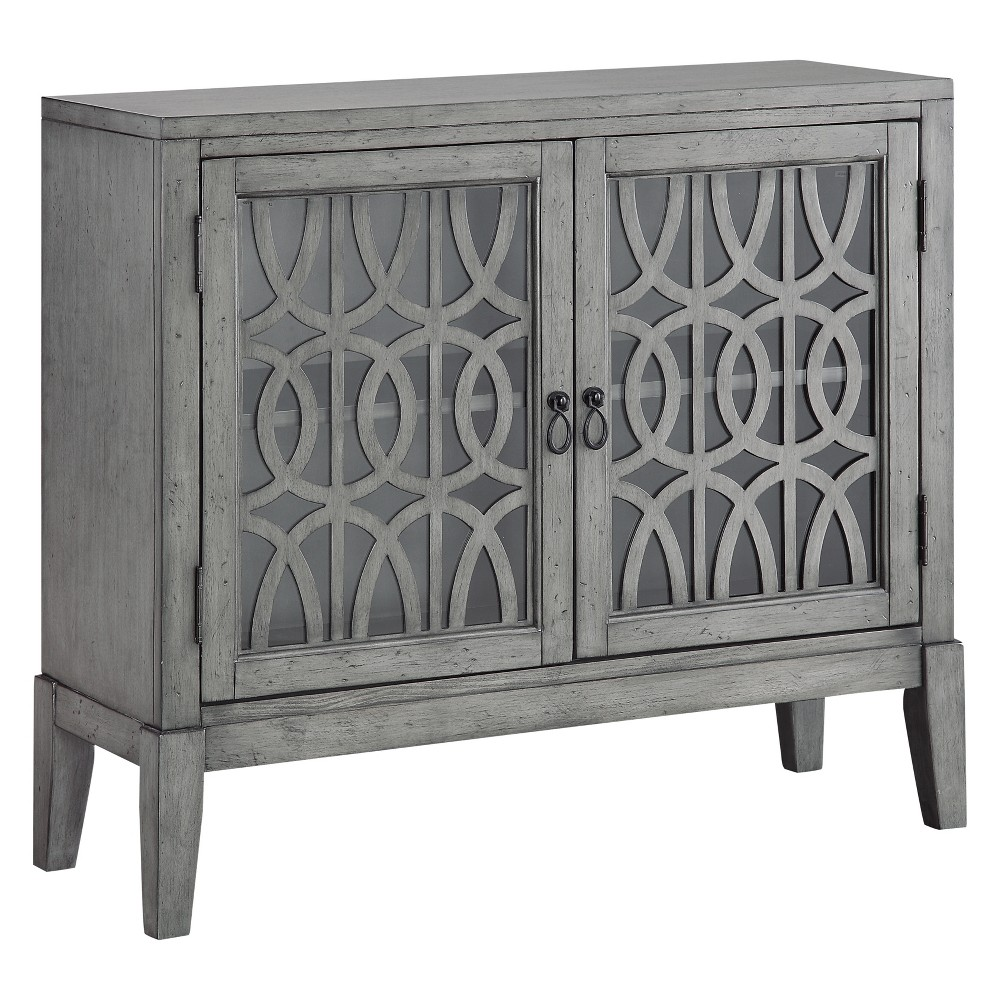 Christopher Knight Home Manet Storage Cabinet Gray