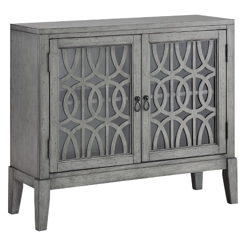 Christopher Knight Home Manet Storage Cabinet Gray - image 1 of 4