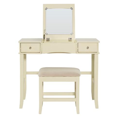 Jackson Vanity Set Cream - Linon : Target