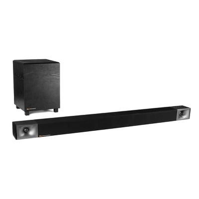 "Klipsch Cinema 600 3.1 Bluetooth Sound Bar with 10"" Wireless Subwoofer"
