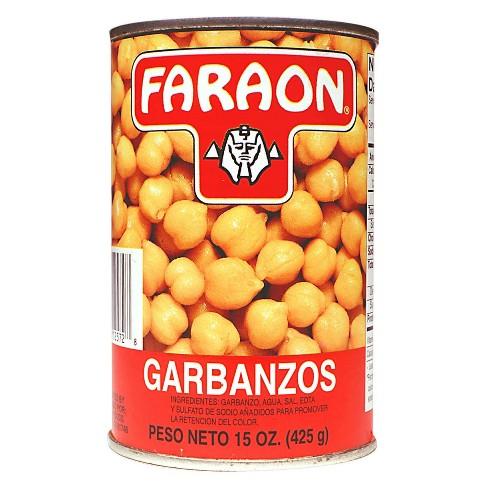 Faraon Garbanzo Beans Can - 15oz - image 1 of 2