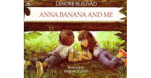 Anna Banana and Me (Reprint) (Paperback) (Lenore Blegvad) - image 1 of 1