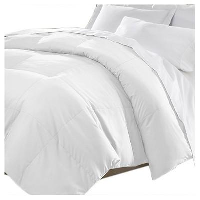 Microfiber Down Comforter (King)White - Kathy Ireland®