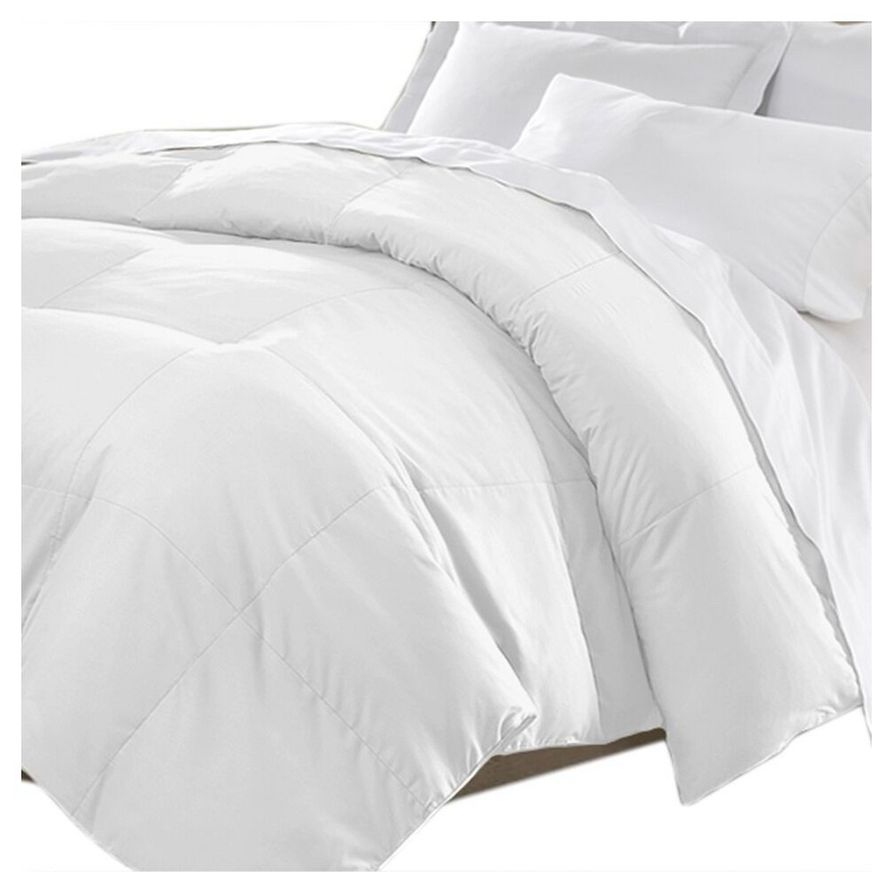 Image of Microfiber Down Comforter (Full/Queen) White - Kathy Ireland