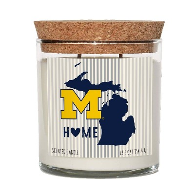 NCAA Michigan Wolverines Home State Candle