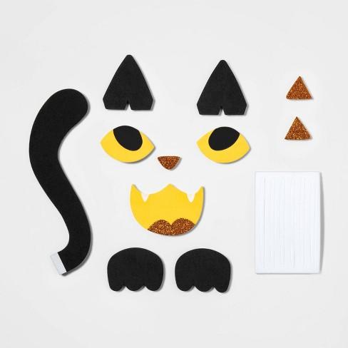 Cat Halloween Pumpkin Decoration - Hyde & EEK! Boutique™ - image 1 of 2