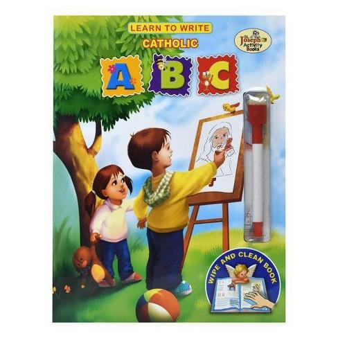 Learn to Write Catholic ABC - (St. Joseph Activity Books) (Mixed media product) - image 1 of 1