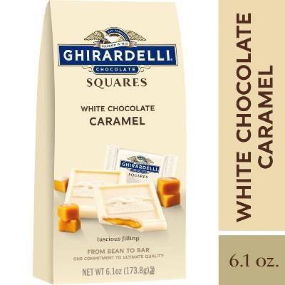 Ghirardelli White Chocolate Caramel Squares - 6.1oz