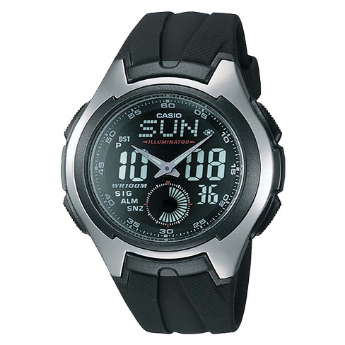 Casio Men's Ana-Digi Sport Watch - Black (AQ160W-1BV) - image 1 of 1