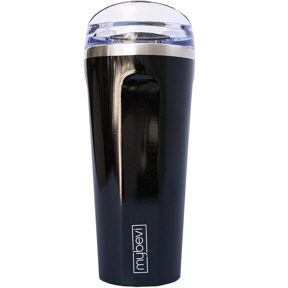 Image of MyBevi 20oz Quatro Premium Vacuum Insulated Hydration Bottle 20oz - Black