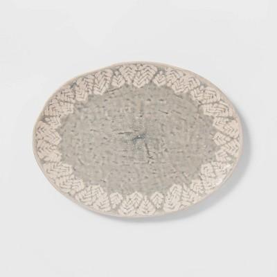 Cravings by Chrissy Teigen Oval Platter White