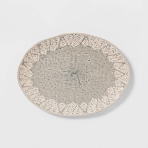 Cravings by Chrissy Teigen Oval Platter White - image 1 of 2