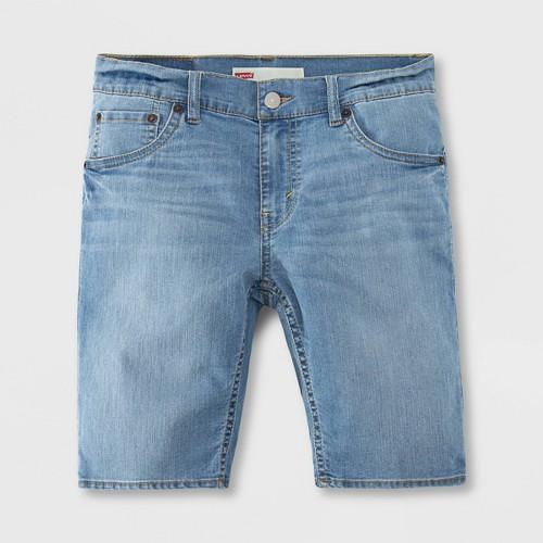 Levi's Boys' 511 Light Weight Jean Shorts - Crystal Springs Light Wash 20