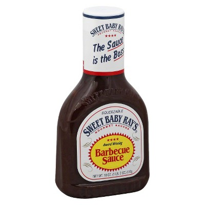 Sauces & Marinades: Sweet Baby Ray's Barbecue Sauce