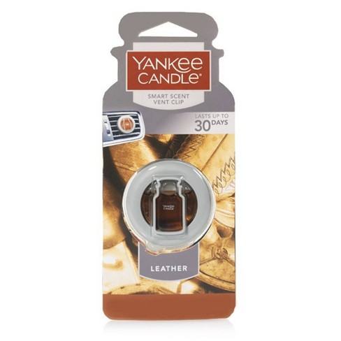 Yankee Candle® - Air Freshener Vent Clip Leather 0.13oz - image 1 of 1