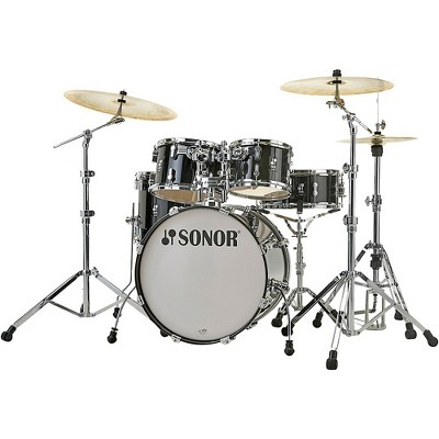 Sonor SONOR AQ2 Stage Maple 5-Piece Shell Pack Transparent Black