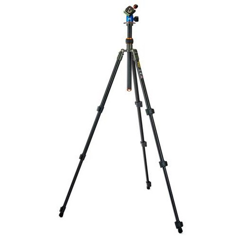 3 Legged Thing Punks Patti Magnesium Alloy Tripod with Blue AirHed Mini Ball Head, Gray - image 1 of 4