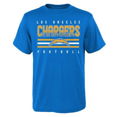 NFL Los Angeles Chargers Boys' Short Sleeve Cotton T-Shirt