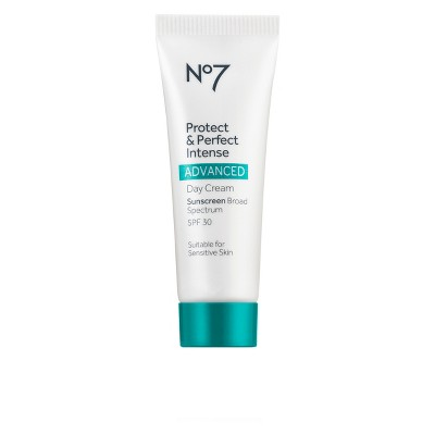 No7 Protect and Perfect Intense Advanced Day Cream Sunscreen SPF 30 - 0.84oz