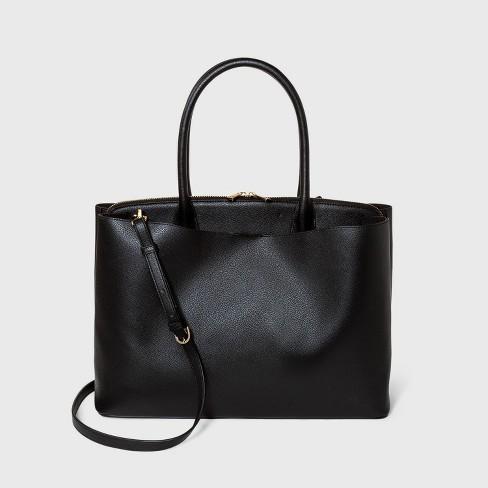 Work Tote Handbag - A New Day™ - image 1 of 3